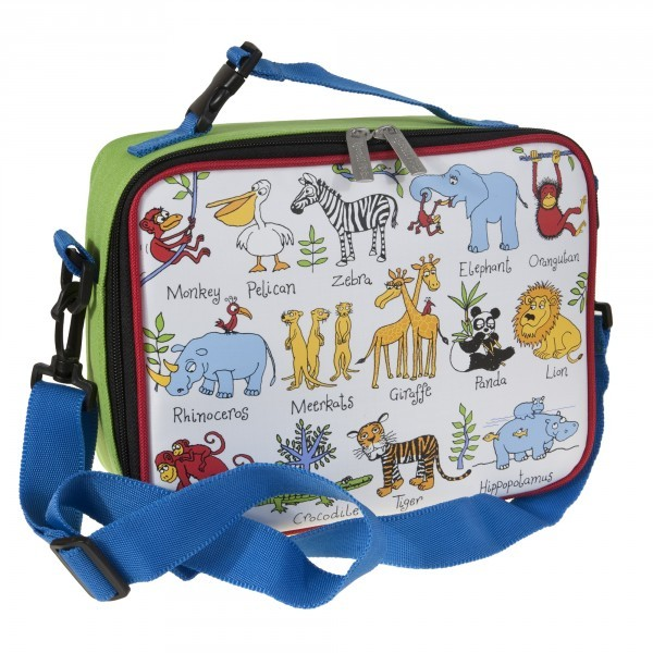 Jungle Dieren Lunchbox