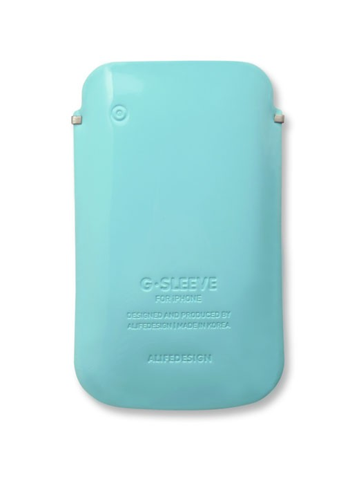 Iphone G-Sleeve lichtblauw
